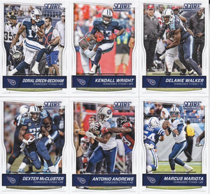 Tennessee Titans 2016 Score Factory Sealed Team Set