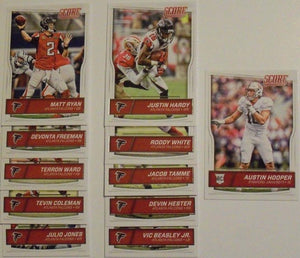 Atlanta Falcons  2016 Score Factory Sealed Team Set