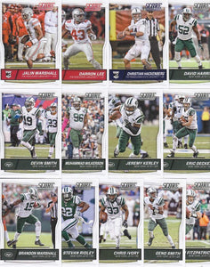 New York Jets  2016 Score Factory Sealed Team Set