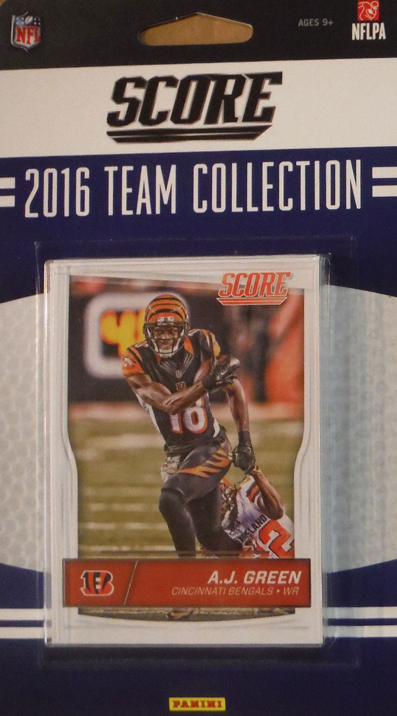 Cincinnati Bengals  2016 Score Factory Sealed Team Set