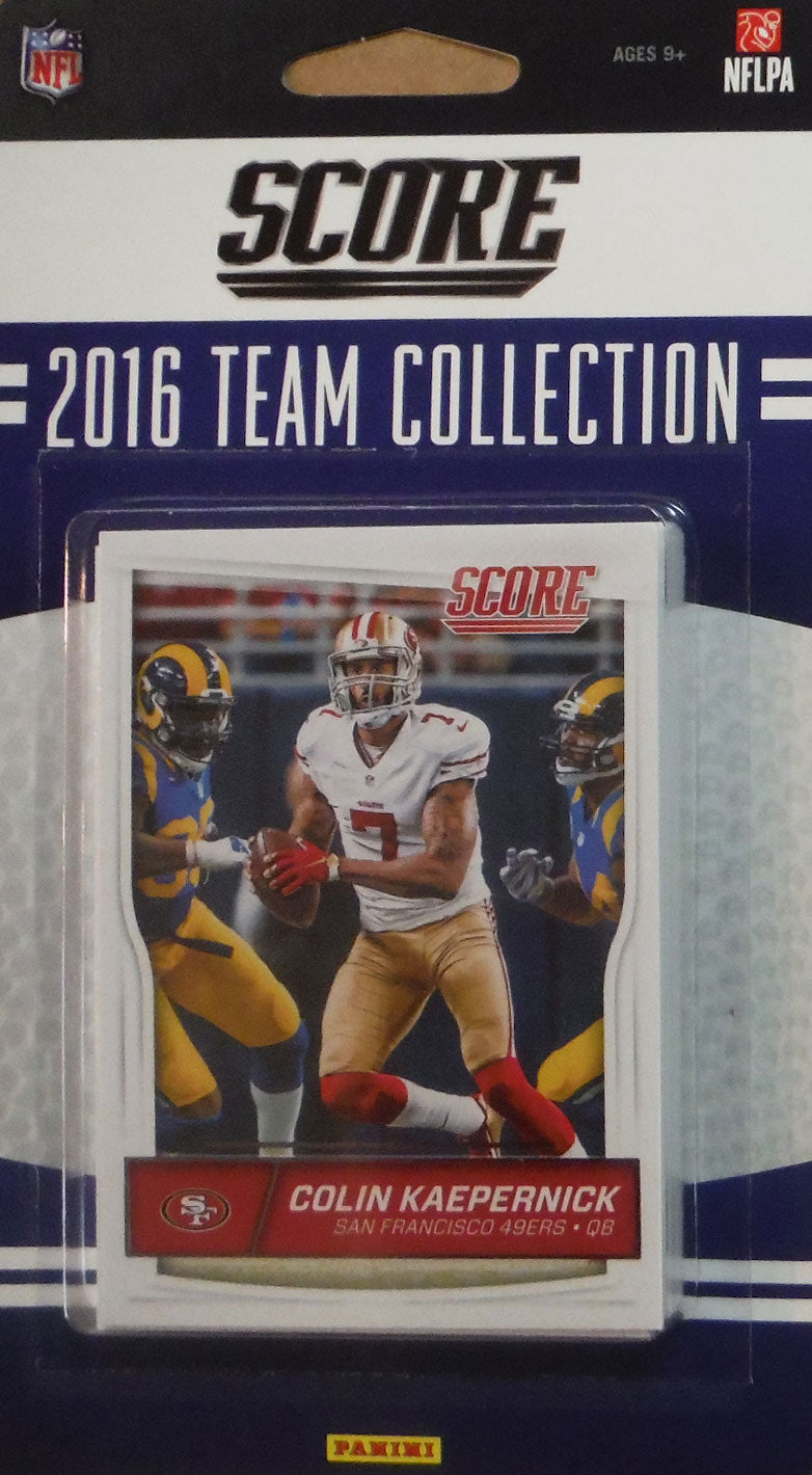 San Francisco 49ers 2016 Score Factory Sealed Team Set
