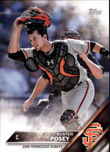 San Francisco Giants 2016 Topps Factory Sealed 17 Card Team Set