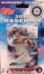 Seattle Mariners  2016 Topps Factory Sealed 17 Card Team Set