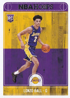 Los Angeles Lakers 2017 2018 Hoops Factory Sealed Team Set with Kyle Kuzma and Lonzo Ball Rookie cards