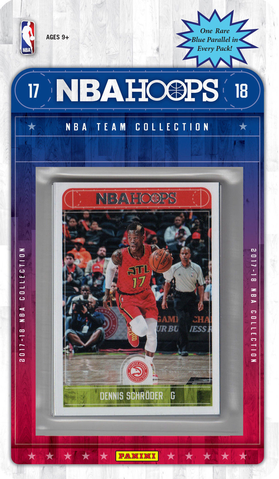 Atlanta Hawks 2017 2018 Hoops Factory Sealed Team Set