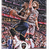 LeBron James 2017 2018 Hoops Basketball Series Mint Card #25