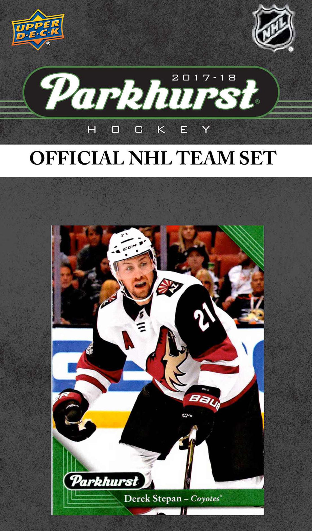 Arizona Coyotes 2017 2018 Upper Deck PARKHURST Factory Sealed Team Set