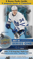 2017 2018 Upper Deck Series One Factory Sealed Unopened Blaster Box