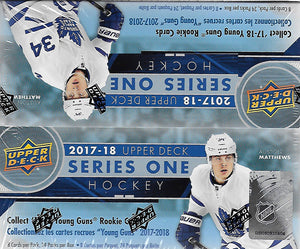 2017 2018 Upper Deck Series One Factory Sealed Unopened Retail Box