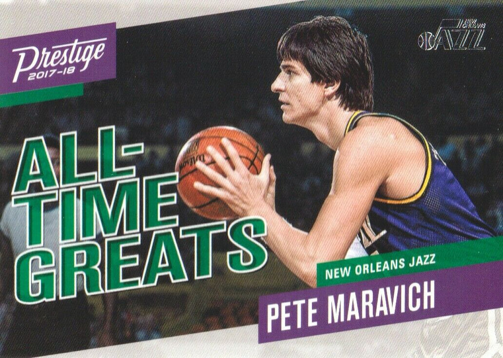 Pistol Pete Maravich 2017 2018 Prestige All Time Greats Series Mint Card #5