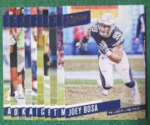 Los Angeles Chargers  2017 Prestige Factory Sealed Team Set