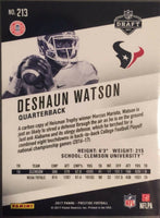 Houston Texans 2017 Prestige Factory Sealed Team Set with Deshaun Watson Rookie