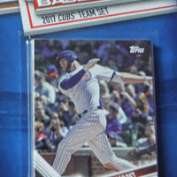 Chicago Cubs 2017 Topps Factory Sealed 17 Card Team Set