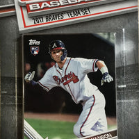 Atlanta Braves 2017 Topps Factory Sealed 17 Card Team Set
