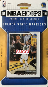 Golden State Warriors 2018 2019 Hoops Factory Sealed Team Set