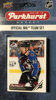 Colorado Avalanche 2018 / 2019 Upper Deck PARKHURST Factory Sealed Team Set