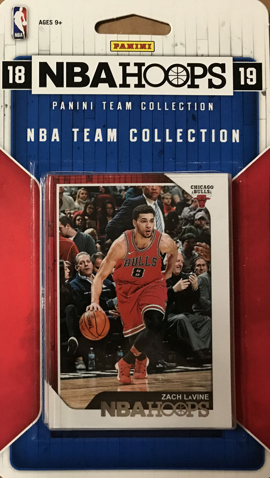 Chicago Bulls  2018 2019 Hoops Factory Sealed Team Set