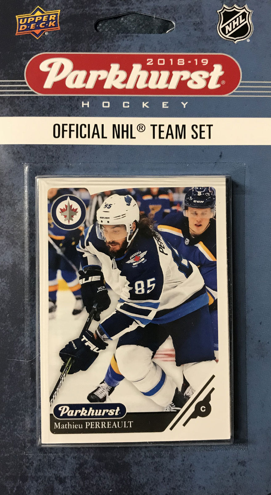 Winnipeg Jets 2018 / 2019 Upper Deck PARKHURST Factory Sealed Team Set