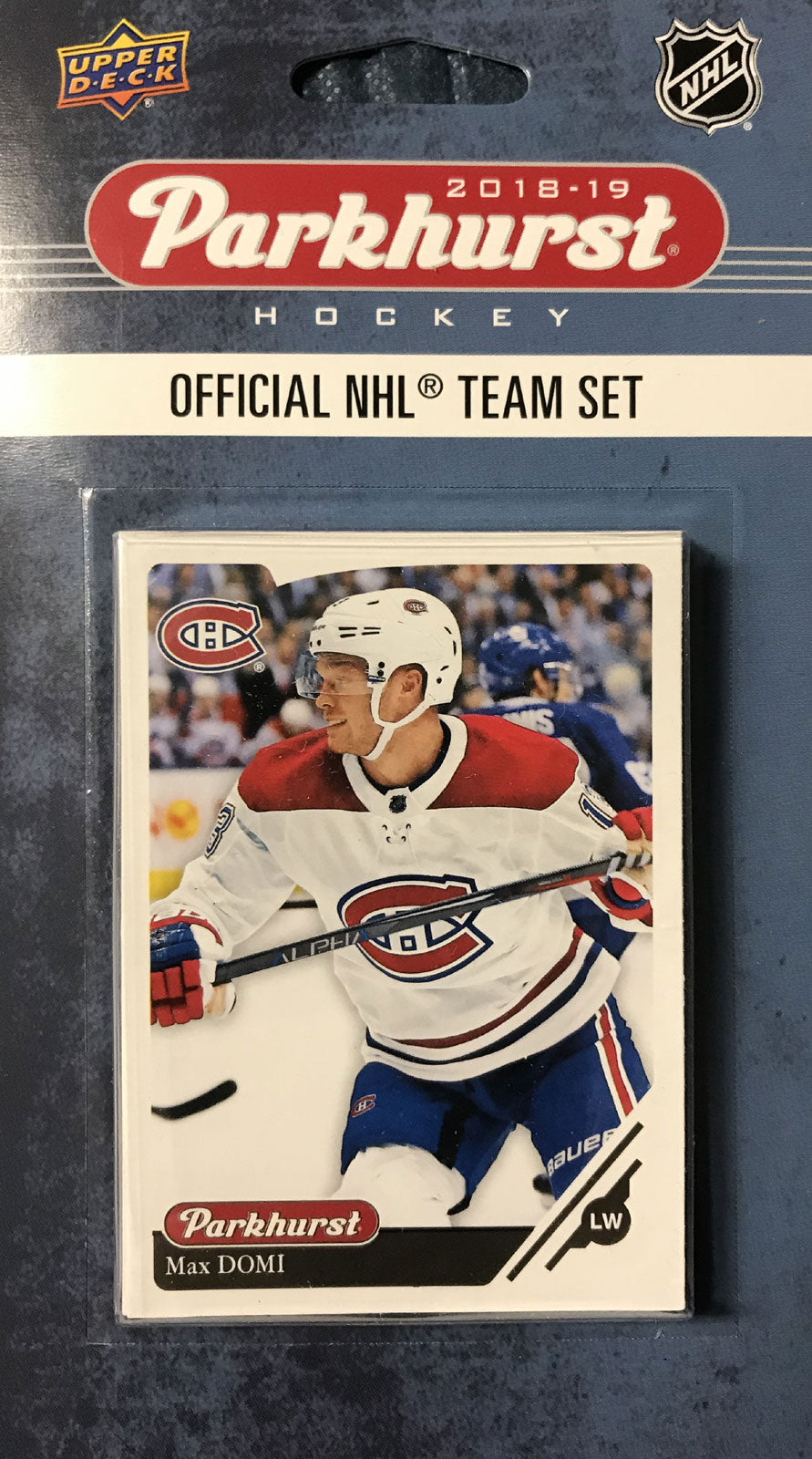 Montreal Canadiens  2018 / 2019 Upper Deck PARKHURST Factory Sealed Team Set