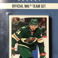 Minnesota Wild  2018 / 2019 Upper Deck PARKHURST Factory Sealed Team Set