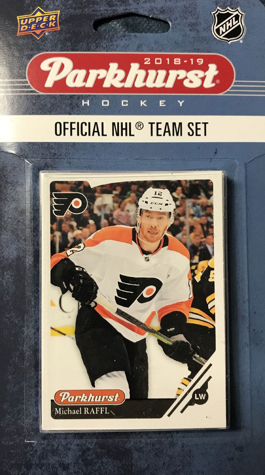 Philadelphia Flyers 2018 / 2019 Upper Deck PARKHURST Factory Sealed Team Set