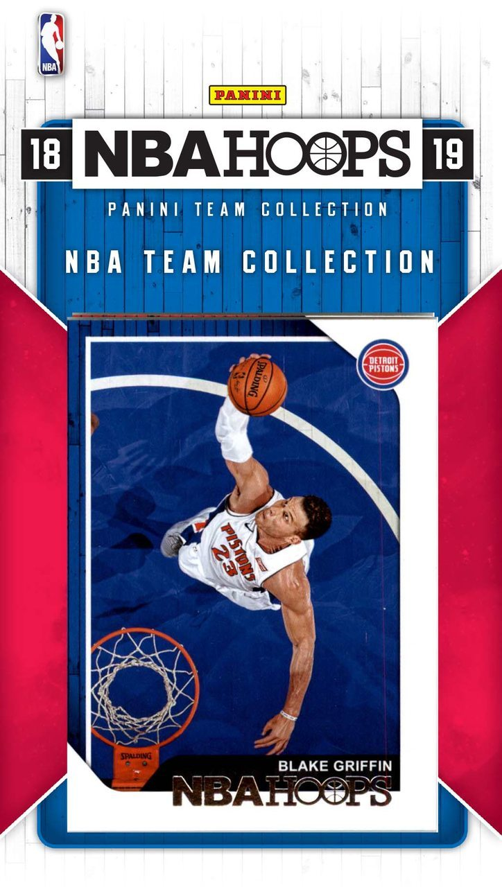 Detroit Pistons 2018 2019 Hoops Factory Sealed Team Set