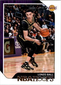 Lonzo Ball 2018 2019 Hoops Mint 2nd Year Card #165