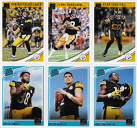 Pittsburgh Steelers   2018 Donruss Factory Sealed Team Set
