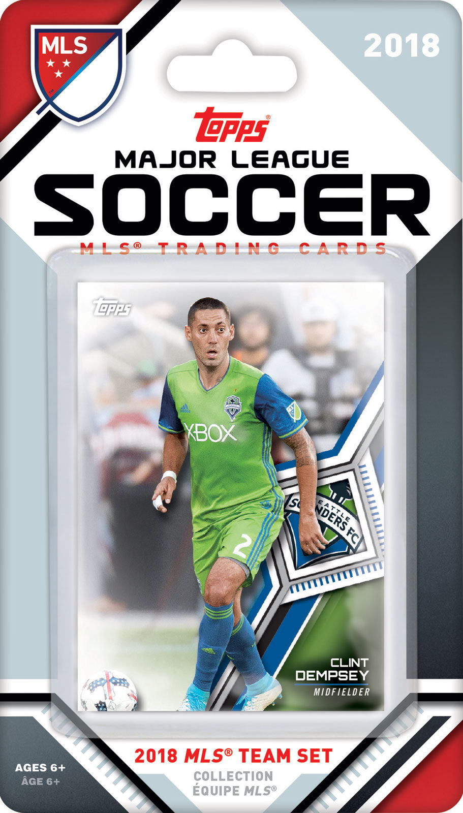 Seattle Sounders FC 2018 Topps Factory Sealed Team Set