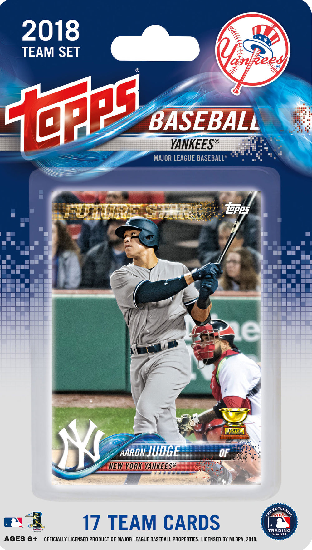New York Yankees 2018 Topps Factory Sealed 17 Card Team Set