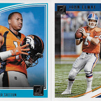 Denver Broncos  2018 Donruss Factory Sealed Team Set