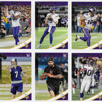 Minnesota Vikings  2018 Donruss Factory Sealed Team Set
