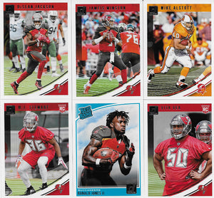 Tampa Bay Buccaneers 2018 Donruss Factory Sealed Team Set