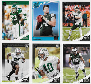 New York Jets  2018 Donruss Factory Sealed Team Set