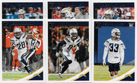 Los Angeles Chargers  2018 Donruss Factory Sealed Team Set