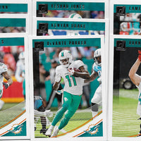 Miami Dolphins 2018 Donruss Factory Sealed Team Set