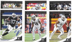 Oakland Raiders  2018 Donruss Factory Sealed Team Set
