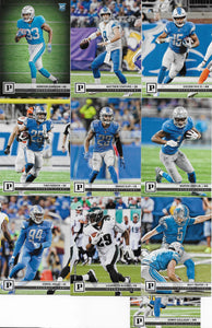 Detroit Lions  2018 Panini Factory Sealed Team Set