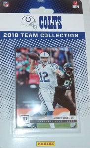 Indianapolis Colts  2018 Panini Factory Sealed Team Set