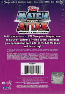 2018 2019 Topps Match Attax UEFA Starter Box