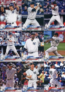 2018 Topps Baseball Complete Mint Hand Collated 700 Card Series 1 and 2 Set