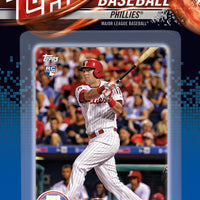 Philadelphia Phillies 2018 Topps Factory Sealed 17 Card Team Set