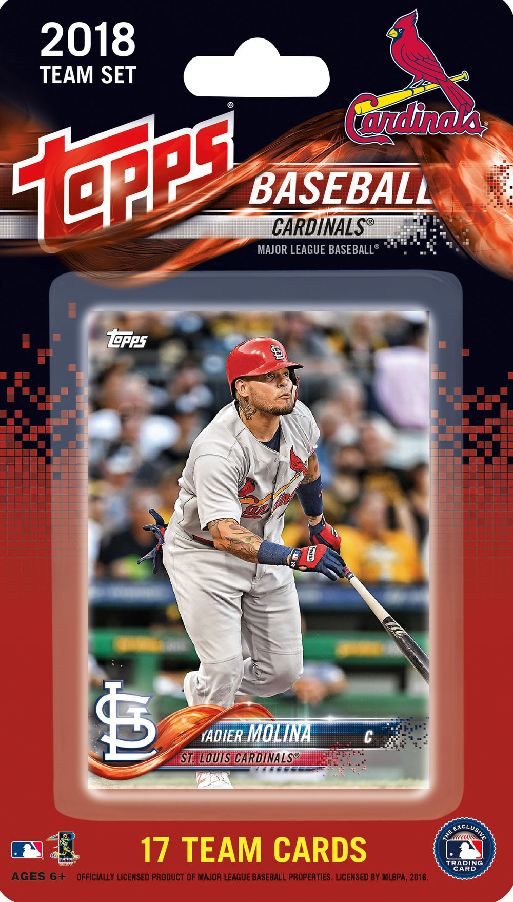 St. Louis Cardinals  2018 Topps Factory Sealed 17 Card Team Set