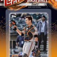 San Francisco Giants 2018 Topps Factory Sealed 17 Card Team Set