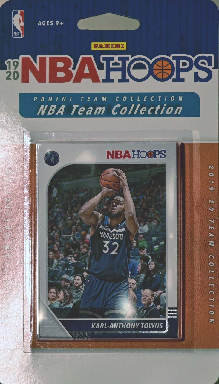 Minnesota Timberwolves    2019 2020 Hoops Factory Sealed Team Set