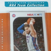Detroit Pistons 2019 2020 Hoops Factory Sealed Team Set