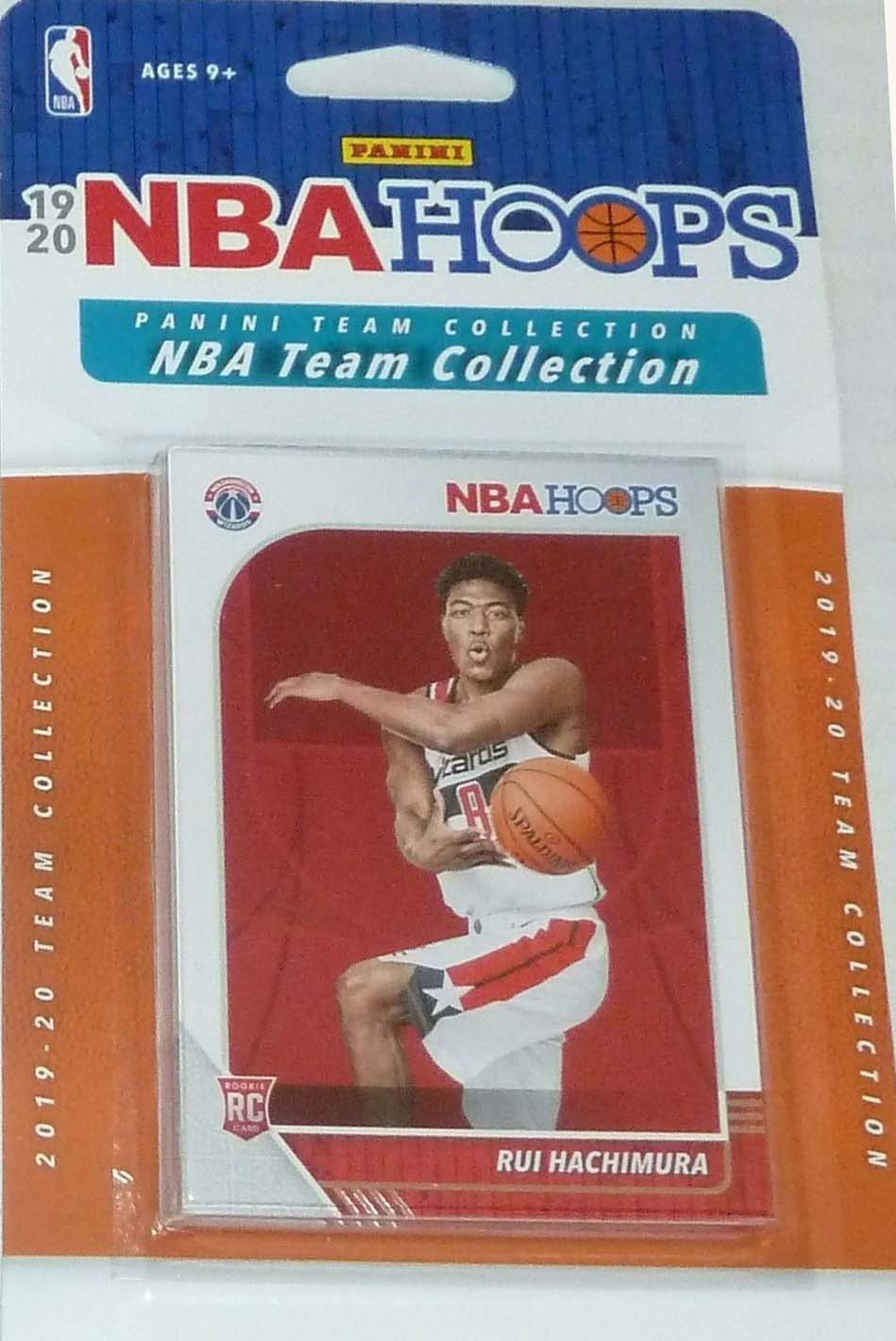 Washington Wizards 2019 2020 Hoops Factory Sealed Team Set