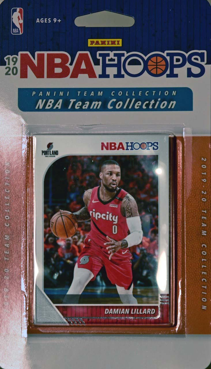 Portland Trail Blazers  2019 2020 Hoops Factory Sealed Team Set