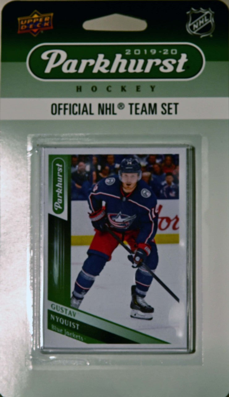 Columbus Blue Jackets 2019 2020 Upper Deck PARKHURST Factory Sealed Team Set