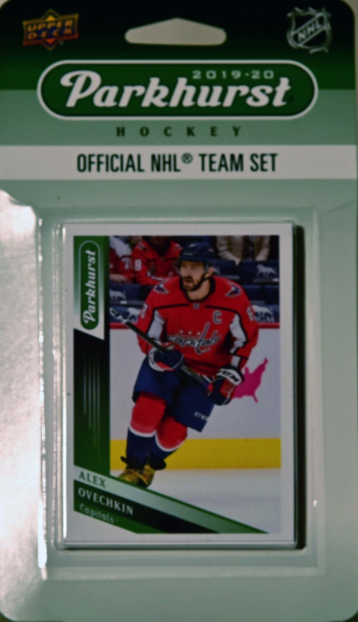 Washington Capitals 2019 2020 Upper Deck PARKHURST Factory Sealed Team Set